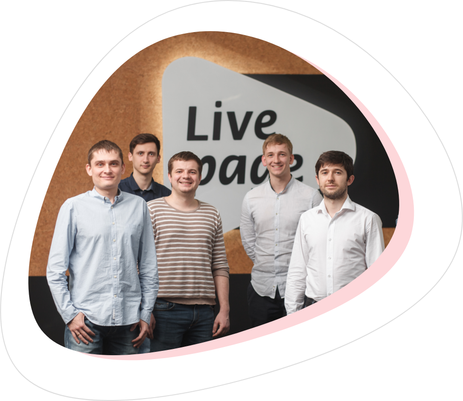 Livepage team photos