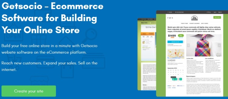 Getsocio — e-commerce platform for SMB