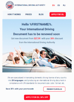 International Driving Authority